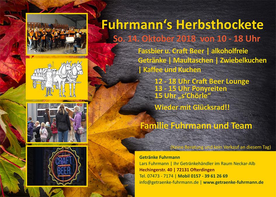 Getränke Fuhrmann   Ihr Getränkehändler in Ofterdingen für Tübingen ...